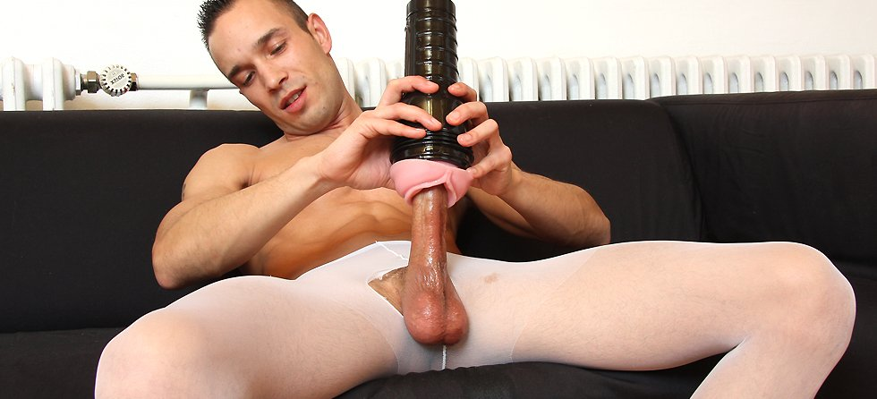 That nylon masturbation tube won this